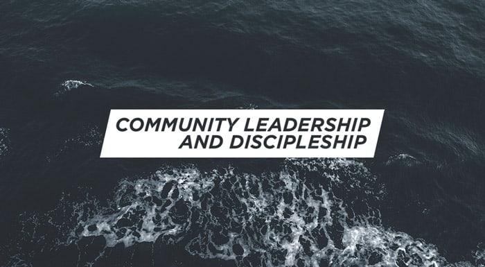 CommunityLeadership&Discipleship