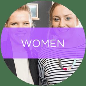 women-button